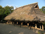 Replica of an Akha house from Thailand