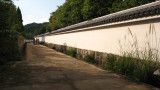 Line of plastered walls, Kōko-en