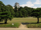 Original Tatsumi-yagura towering over the park