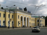 Tiraspol's central rail station