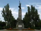 Soviet Heroes memorial on B-dul Renaşterii