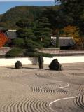 Zen garden in Kōzen-ji