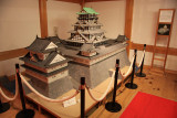 Scale model of Sumpu-jō's donjon