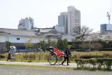 Rickshaw tour in Sumpu-kōen