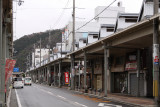 Arcade along Hamakaze-dōri