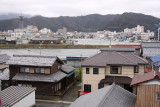 View towards the harbor from Obama-jō