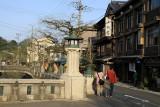 The center of Kinosaki Onsen