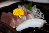 Fresh sashimi platter