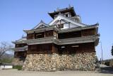 Fukuchiyama-jō's reconstructed donjon