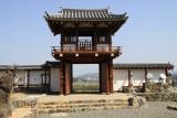 Reconstructed gate at Fukuchiyama-jō