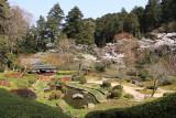 Stroll garden below Ishiyama-dera