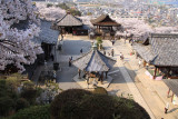 View down on the Kannon-dō complex