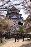 Hikone-jō's donjon from the Nishino-maru