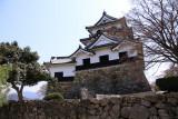 Rear view of the tenshu-kaku (donjon)