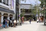 The main drag in Monju village