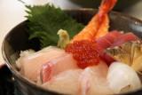 Kaisen-donburi (sashimi rice bowl)