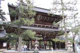 Main gate into Chion-ji
