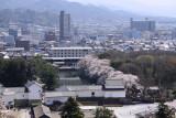 Nino-maru and Hikone skyline