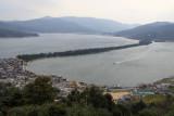 View over Amanohashidate from Kasamatsu-kōen