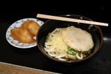 Sanuki udon and inari-zushi
