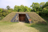 Restored kamoba shed for duck hunting