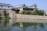 Kurogane-gomon and castle moat