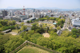 Looking out over central Marugame