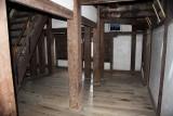Bare interior of Marugame-jō's donjon