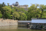 Marugame Castle from outside the park