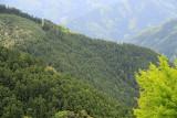 Mountain scenery in Nishi (West) Iya