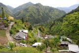 Village high up in Nishi Iya