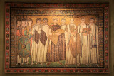 Mosaic of Justinian from San Vitale in Ravenna