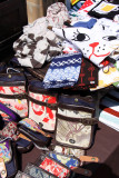 Shibori-patterned wallets