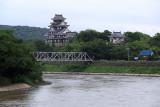 View downstream to Okayama Castle
