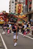 Lantern bearer in the parade