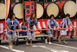 Group of float bearers