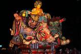 Buddha atop samurai and demon images