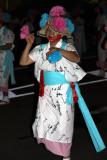 Bon dancer in haneto costume