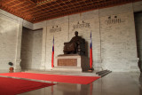Statue of Chiang Kai-shek within the hall