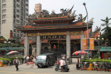 Outer gate of Longshan Temple in Wanhua