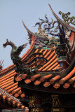 Roof detail of Longshan Temple