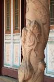 Dragon pillar outside the Hall of the Sage