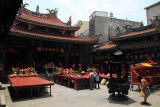 Main courtyard of Tianhou Temple