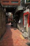 Shih Yih Hall at the end of Nine-Turns Lane