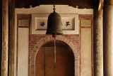 Bell in the entrance of the rear hall