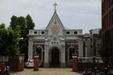 Tainan's wee Catholic Church