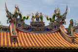 Roof of the City God Temple