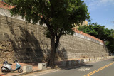 Remnant of Tainan's old city walls