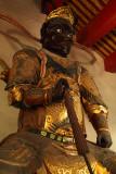 Guardian figure in Fahua Temple