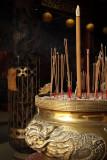 Censer and joss sticks, Lady Linshui Temple